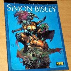 Cómics: EL ARTE DE SIMON BISLEY - NORMA EDITORIAL - LIBRO TAPA BLANDA - 1ª EDICIÓN - MARZO 2002. Lote 111236243