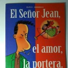 Fumetti: SEÑOR JEAN - EL AMOR, LA PORTERA - DUPUY & BERBERIAN. Lote 111286520