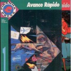 Comics: GRANT MORRISON, DAVE MCKEAN, KYLE BAKER,ETC.AVANCE RAPIDO: 2 TOMOS. EDIC.ZINCO. Lote 179385006