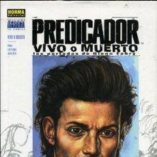 Cómics: GLENN FABRY. PREDICADOR LIBRO DE ILUSTRACIONES CON TODAS LAS PORTADAS. TAPA DURA CON SOBRECUBIERTA.. Lote 234345860
