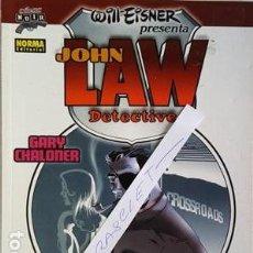 Cómics: JOHN LAW DETECTIVE - 3 HISTORIAS ORIGINALES - NORMA EDITORIAL -. Lote 112136255