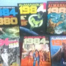 Cómics: COLECCION COMPLETA DE ALMANAQUES 1984 6 NUMEROS. Lote 112356343