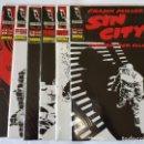 Cómics: SIN CITY - MORIRIA POR ELLA (SERIE COMPLETA 6 NUMEROS). Lote 112357959