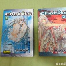 Cómics: LOTE 2 TOMOS MANGA 'CHOBITS'. Lote 112523703