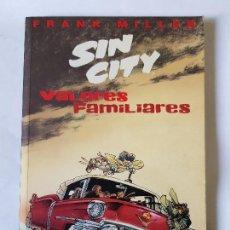 Cómics: SIN CITY - VALORES FAMILIARES. Lote 112357411