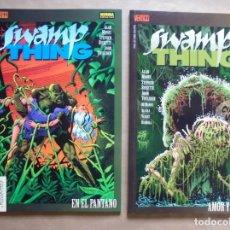 Comics - Swamp thing - En el pantano - Amor y muerte - Alan Moore - La cosa del pantano - Norma - JMV - 112611511