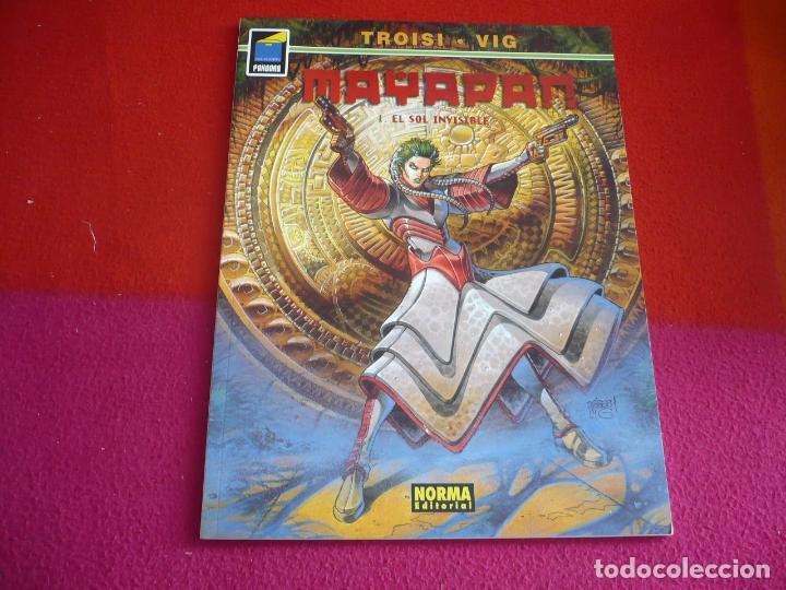 MAYAPAN 1 EL SOL INVISIBLE ( TROISI VIG ) ¡MUY BUEN ESTADO! PANDORA NORMA (Tebeos y Comics - Norma - Comic Europeo)