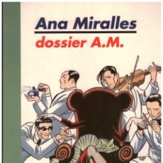 Cómics: ANA MIRALLES. DOSSIER A.M. MIDONS EDITORIAL. Lote 271819503
