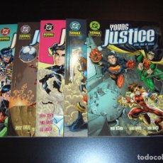 Cómics: YOUNG JUSTICE - COMPLETA - PETER DAVID - NORMA EDITORIAL . Lote 112642311