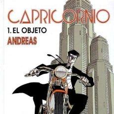 Cómics: ANDREAS, CAPRICORNIO. 2 TOMOS. NORMA. RUSTICA. Lote 127781539
