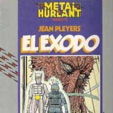 Cómics: JEAN PLAYERS. EXODO. MAGNIFICO ALBUM DEL PRINCIPAL DIBUJANTE DE JHEN. METAL HURLANT COL. HUMANOIDES. Lote 112645899