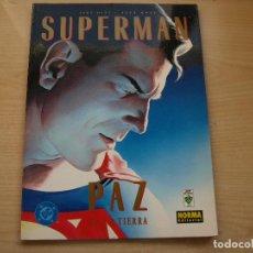 Cómics: SUPERMAN - PAZ EN LA TIERRRA - TAPA BLANDA - AÑO 2000 - NORMA. Lote 112659247
