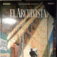 Cómics: NORMA LAS CIUDADES OSCURAS EL ARCHIBISTA 40 X 30 CM 1991 SCHUITEN-PEETERS. Lote 112729167