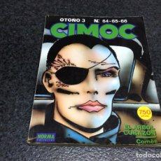 Cómics: CIMOC , TOMO RECOPILATORIO -CONTIENE Nº 64,65,66 - EDITA : NORMA. Lote 112997079