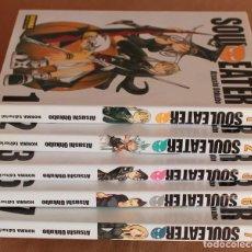 Cómics: MANGA - SOUL EATER 1 2 3 6 7 - ATSUSHI OHKUBO - NORMA ED. - MUY BUEN ESTADO - Y SUELTOS - Y REGALO?. Lote 113127447