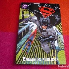 Cómics: SUPERMAN BATMAN ENEMIGOS PUBLICOS ( JEPH LOEB MCGUINNES ) ¡MUY BUEN ESTADO! NORMA DC. Lote 113321155
