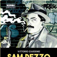 Cómics: CÓMICS. SAM PEZZO. UN DETECTIVE, UNA CIUDAD - VITTORIO GIARDINO (CARTONÉ). Lote 113368859
