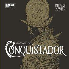 Cómics: CÓMICS. CONQUISTADOR. EDICIÓN COMPLETA - JEAN DUFAUX/XAVIER (CARTONÉ). Lote 179549363