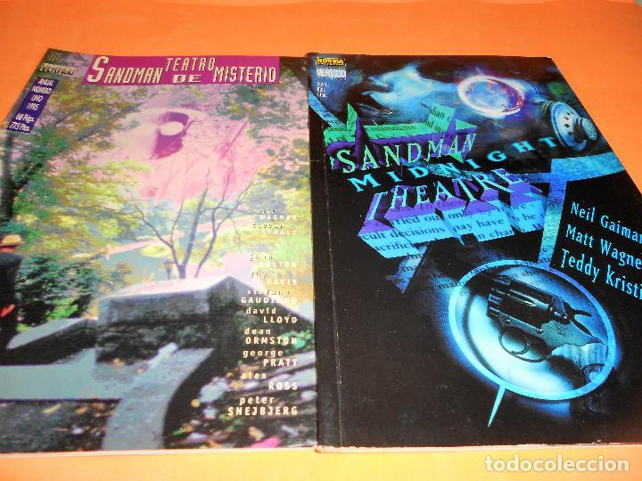 SANDMAN MYSTERY THEATRE. DOS ESPECIALES. BUEN ESTADO. (Tebeos y Comics - Norma - Comic USA)