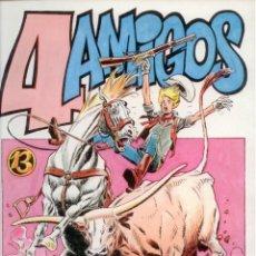 Cómics: LUIS GARCIA. CARLOS GIMENEZ. 4 AMIGOS. PAPEL VIVO. RUSTICA. . Lote 126645162