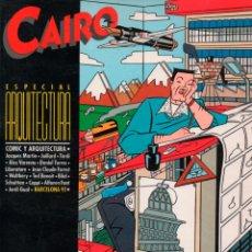 Cómics: CAIRO ESPECIAL ARQUITECTURA. NORMA EDITORIAL 1985. Lote 114310539