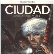 Cómics: CIUDAD. JUAN GIMENEZ. RICARDO BARREIRO. OBRA COMPLETA . 176 PAGINAS. RUSTICA.. Lote 126644816