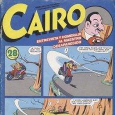 Cómics: CAIRO - EL NEOTEBEO - Nº 28- ESPECIAL JOSEP COLL- 1984- ESCASO- RARO- BUENO- LEAN- 8141. Lote 114547763