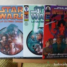 Cómics: STAR WARS -3 NUMEROS DE 1 DE 3. Lote 114580311