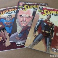 Cómics: SUPERMAN LEGADO 1 2 3 COMPLETA – NORMA ED., AÑO 2004 - NUEVO (PRECINTADO). Lote 114967459