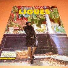 Cómics: LIGUES - COMIC DE MAX CABANES & SYLVIE BRASQUET - NORMA 1ª EDICIÓN 1996 - COL. EXTRA COLOR Nº 135.. Lote 115017675