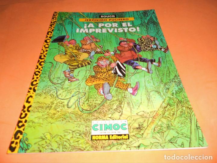 JERONIMO PUCHERO / A POR EL IMPREVISTO! - BOUCQ - NORMA - TAPA BLANDA - BUEN ESTADO. (Tebeos y Comics - Norma - Comic Europeo)