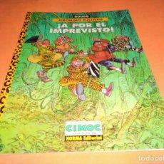 Cómics: JERONIMO PUCHERO / A POR EL IMPREVISTO! - BOUCQ - NORMA - TAPA BLANDA - BUEN ESTADO.. Lote 115020735