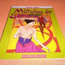 Cómics: LAS MURALLAS DE SAMARIS. TOTEM COMICS COLECCIÓN VERTIGO - 9 . 1983. BUEN ESTADO. Lote 115126551