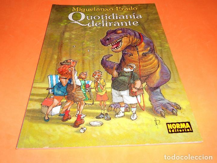 MIGUELANXO PRADO : QUOTIDIANIA DELIRANTE (COL.M.PRADO Nº 5). BUEN ESTADO (Tebeos y Comics - Norma - Cimoc)
