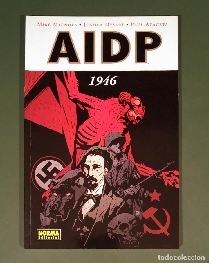 AIDP #9: 1946 (DARK HORSE / NORMA) -50% PVP - UNIVERSO HELLBOY - (Tebeos y Comics - Norma - Comic USA)