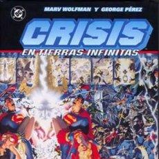 Cómics: CRISIS EN TIERRAS INFINITAS - INTEGRAL - NORMA - TAPA DURA - MUY BUEN ESTADO - C08. Lote 115232391