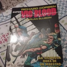 Cómics: SUPER VIC & BLOOD RICHARD CORBEN Y HARLAN ELLISON. Lote 115247619