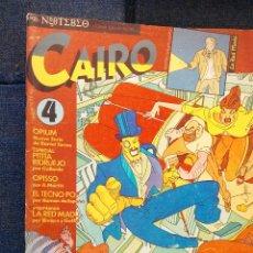 Cómics: REVISTA CAIRO N°4. Lote 115292044
