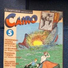 Cómics: REVISTA CAIRO N °5.. Lote 115292168
