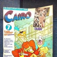 Cómics: REVISTA CAIRO N°7. EXTRA DE VERANO.. Lote 115292334