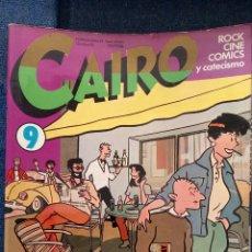 Cómics: REVISTA CAIRO N°9. Lote 115292443