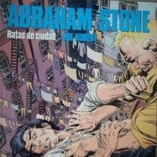 Cómics: RATAS DE CIUDAD ABRAHAM STONE. Lote 115333959