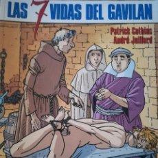 Cómics: LAS 7 VIDAS DEL GAVILAN CIMOC EXTRA COLOR 84. Lote 115361439