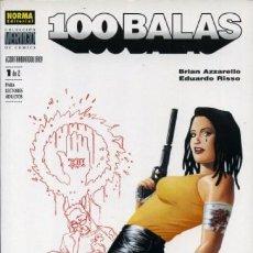 Comics: 100 BALAS CONTRABANDOLERO COMPLETA 1 Y 2 - COL. VERTIGO Nº 216 Y 218 - NORMA - IMPECABLE - C13. Lote 115398347