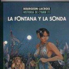 Cómics: HISTORIA DE CYANN Nº 1 - LA FONTANA Y LA SONDA - CIMOC EXTRA COLOR Nº 236 - NORMA - NUEVO - C13. Lote 115459663