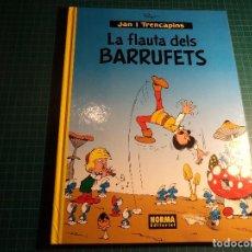 Comics : LA FLAUTA DELS BARRUFETS. NORMA 1ª EDICION. (H-1). Lote 115514127