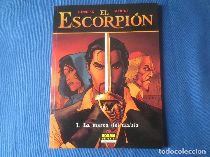 EL ESCORPIÓN N.º 1 LA MARCA DEL DIABLO DE DESBERG & MARINI - COLECCIÓN CIMOC EXTRA COLOR N.º 181 (Tebeos y Comics - Norma - Comic Europeo)