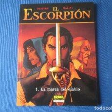 Cómics: EL ESCORPIÓN N.º 1 LA MARCA DEL DIABLO DE DESBERG & MARINI - COLECCIÓN CIMOC EXTRA COLOR N.º 181. Lote 115554311