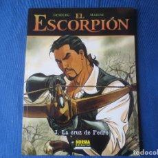 Cómics: EL ESCORPION N.º 3 LA CRUZ DE PEDRO DE DESBERG & MARINI - COLECCIÓN CIMOC EXTRA COLOR N.º 200. Lote 115554743