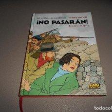 Cómics: NO PASARAN EDICION INTEGRAL VITTORIO GIARDINO AVENTURAS DE MAX FRIDMAN PERFECTO 2ª EDICION. Lote 116089923